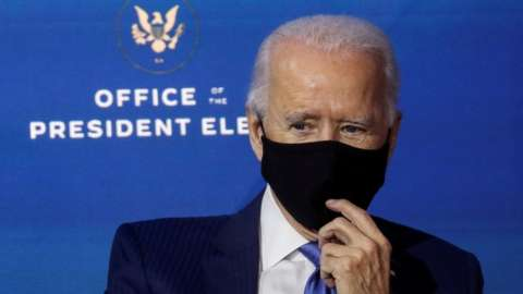Joe Biden, 3 December 2020