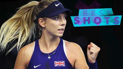Best shots: Boulter blasts GB to victory