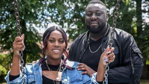 Sindy Chikadaya and Vanel Abramsamadu