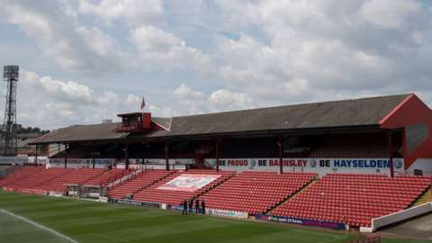 West Stand Oakwell
