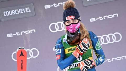 Mikaela Shiffrin claims 67th career World Cup giant slalom win.