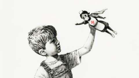 "Banksy""s Game Changer"