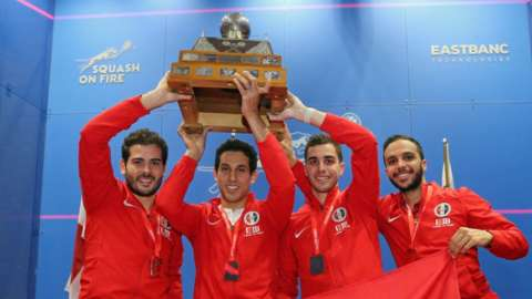 Egypt lift the World Team Championship