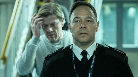 Sean Bean and Stephen Graham in Time