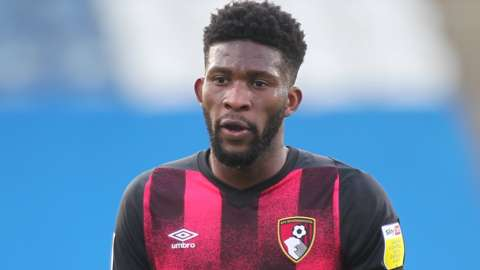 Jefferson Lerma in action for Bournemouth