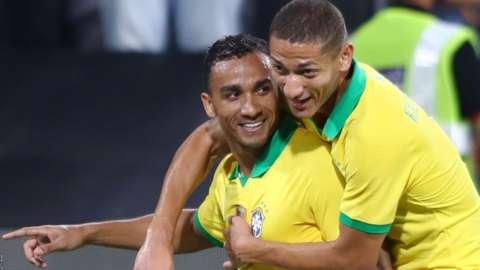 Danilo celebrates