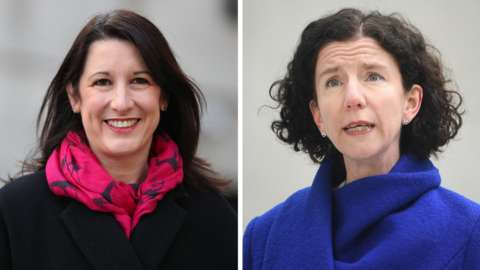 Rachel Reeves and Anneliese Dodds