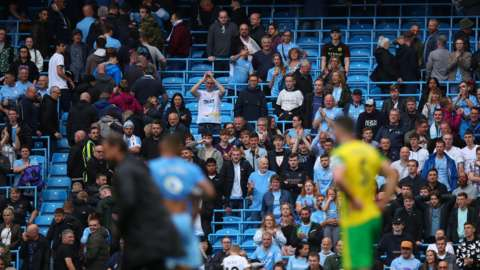 Manchester City have installed rail seating at the Etihad stadium which can be converted to standing area