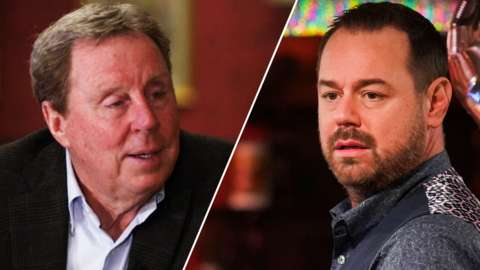 Harry Redknapp and Danny Dyer