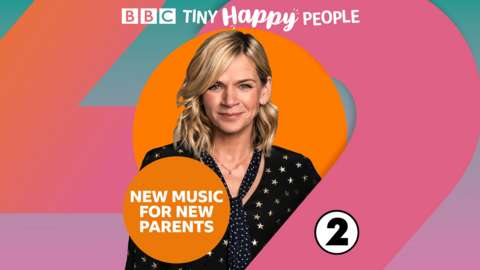 Brand image with Zoe Ball for New Music For New Parents