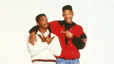 Alfonso Ribeiro and Will Smith