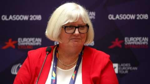 British Gymnastics chief executive Jane Allen