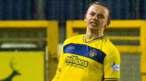 Aidan Nesbitt was the hero for Morton