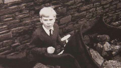 Jeff Edwards, who survived the Aberfan disaster when he was only eight