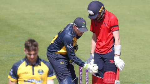 Wales and Glamorgan were first due to meet in a One Day Cup warm-up game at Newport a year ago but it was cancelled because of Covid