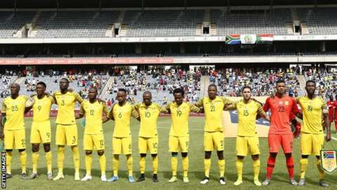South Africa football team