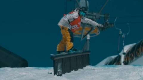 Snowboarder Mia Brookes