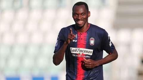 Nigeria and Crotone striker Simy