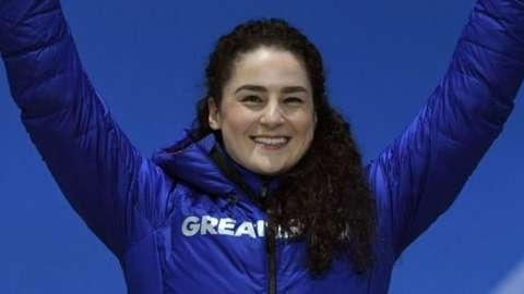 Welsh skeleton athlete Laura Deas