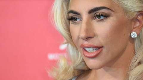 Lady Gaga close-up