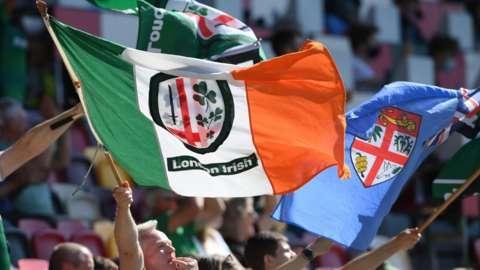 London Irish flag
