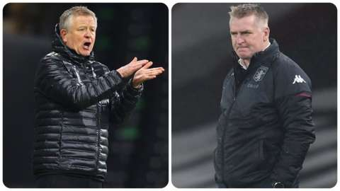 Chris Wilder and Dean Smith