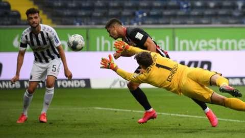 Goal in Bundesliga