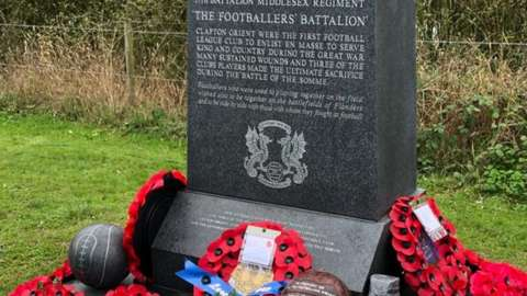 The memorial at the National Arboretum was unveiled in a special service on Sunday 24 October 2021
