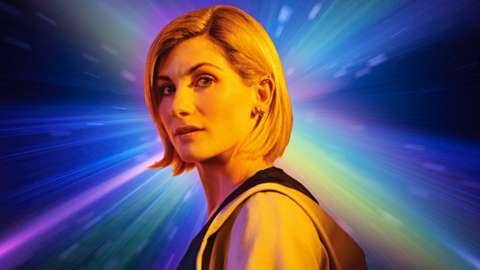 Jodie Whittaker as the Doctor.