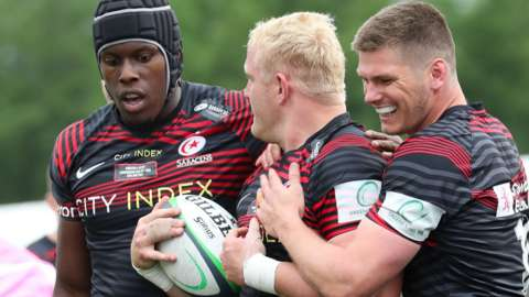 Saracens promoted to the Premiership