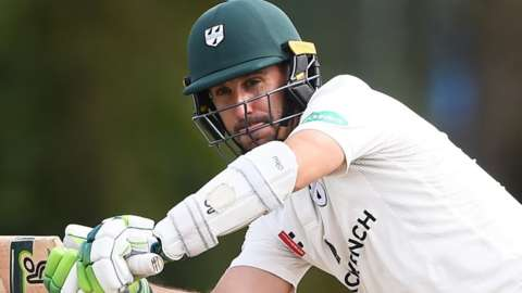 Worcestershire opening batsman Daryl Mitchell