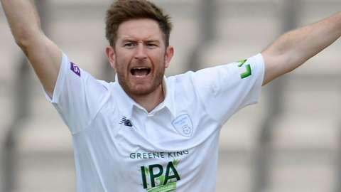 Liam Dawson of Hampshire