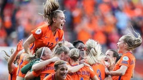 Netherlands win Euro 2017