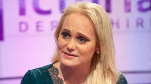 Jennifer Arcuri in 2019