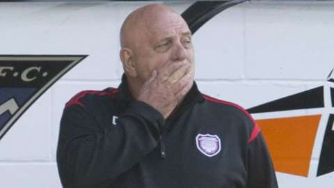 Arbroath manager Dick Campbell