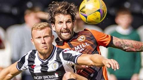 St Mirren v Dundee United