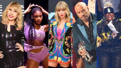 Stars of the 2019 MTV VMA's