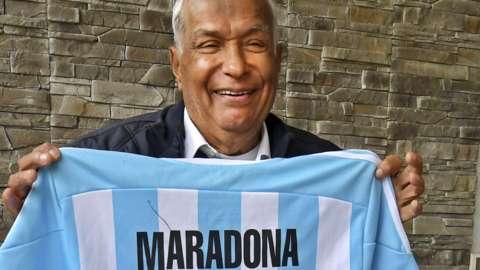 Tunisia referee Ali Bin Nasser