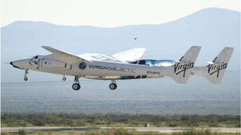Virgin Galactic's VSS Unity spacecraft