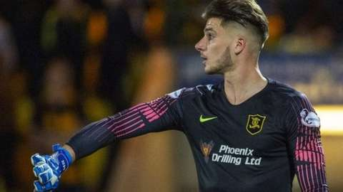 Matija Sarkic spent time on loan at Wigan Athletic, Havant & Waterlooville and Livingston while he was at Aston Villa before joining Wolves last summer