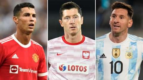Ronaldo/Lewandowski/Messi