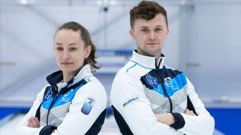 Jennifer Dodds and Bruce Mouat will fly the flag for Scotland in Aberdeen