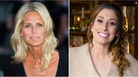 Ulrika Jonsson and Stacey Solomon