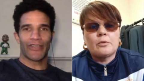 David James and Kirsty Turner