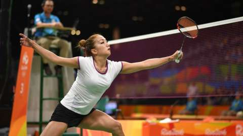 Kate Foo Kune at the Rio Olympics.