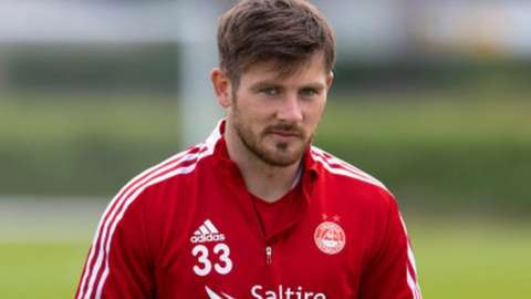 Aberdeen winger Matty Kennedy