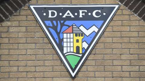 Dunfermline Athletic badge