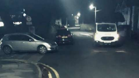 police stopping cars on ghosthunt