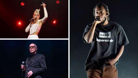 Dua Lipa, Kendrick Lamar and Pet Shop Boys
