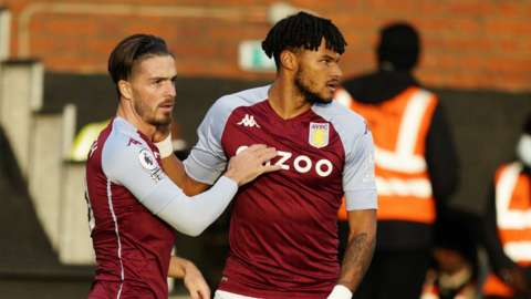 Jack Grealish and Tyrone Mings
